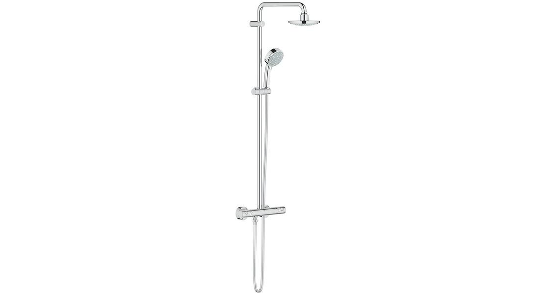 Avantages d'une colonne de douche